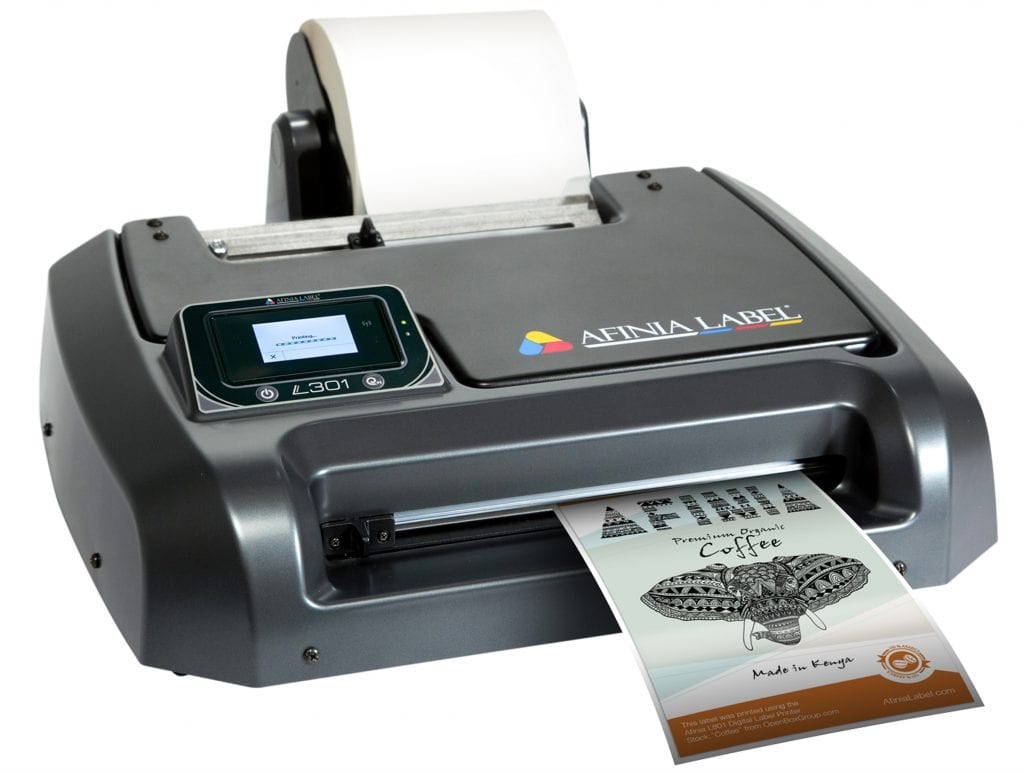 Personalise your product - digital label printer