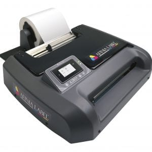 Digital colour label printer