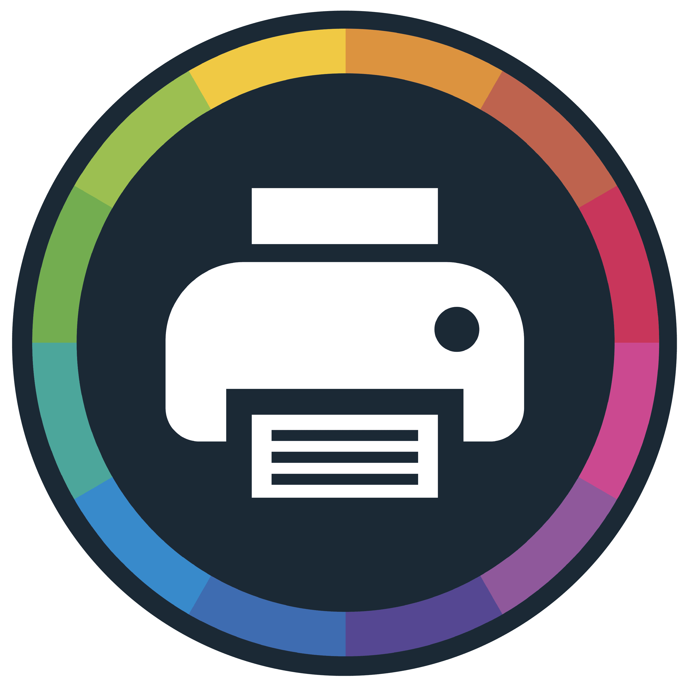 colour inkjet labels