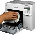 Epson C3500 Label Roll Change